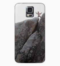 Clay person,on high Case/Skin for Samsung Galaxy