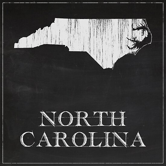 North Carolina - Chalk by FinlayMcNevin