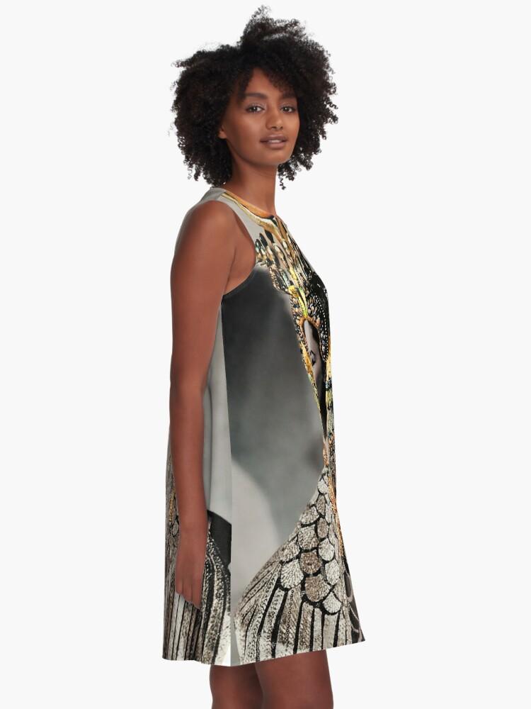 Alternate view of Elizabeth Taylor as Cleopatra A-Line Dress