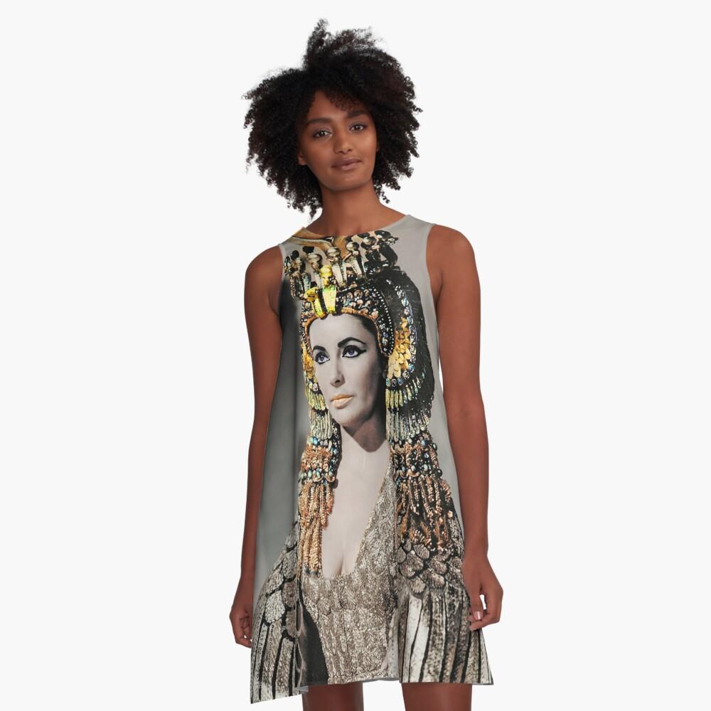 Elizabeth Taylor as Cleopatra A-Line Dress