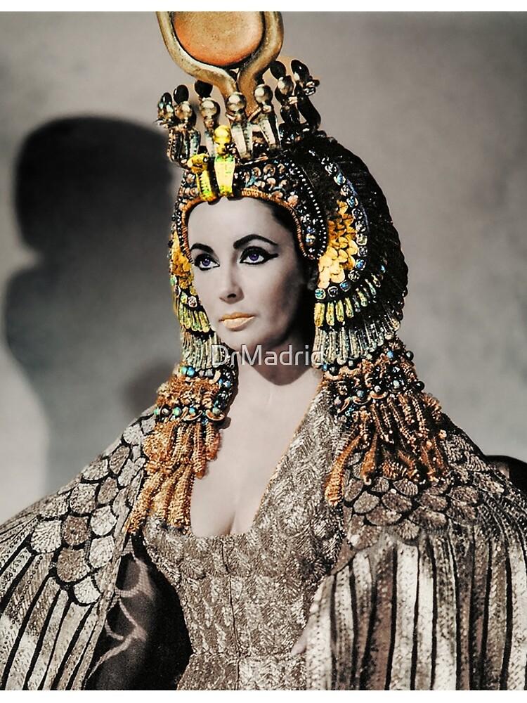 Elizabeth Taylor as Cleopatra by DrMadrid