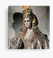 Elizabeth Taylor as Cleopatra Canvas Print