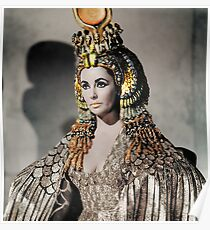 Elizabeth Taylor as Cleopatra Poster