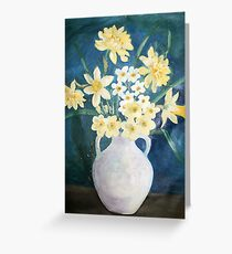 Evelyn's Daffodils Greeting Card