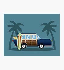 Beach Cruiser Photographic Print