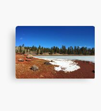USA (Arizona) - Apache-Sitgreaves NF (A One Lake) (3) Canvas Print
