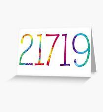 21719 Tie Dye - Camp Louise Greeting Card