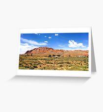 USA (Arizona) - Navajo Nation (near Willow Springs) Greeting Card