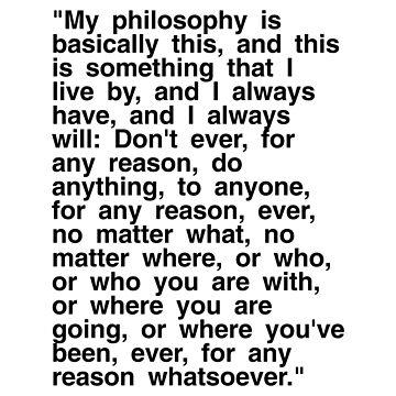 Michael Scott's Philosophy by WadeEvansMusic