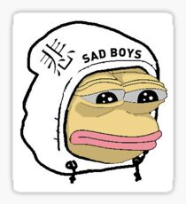 sadboy Sticker