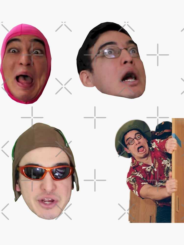 The Filthy Frank Show - Sticker Pack by jcwenhold