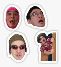 The Filthy Frank Show - Sticker Pack Sticker