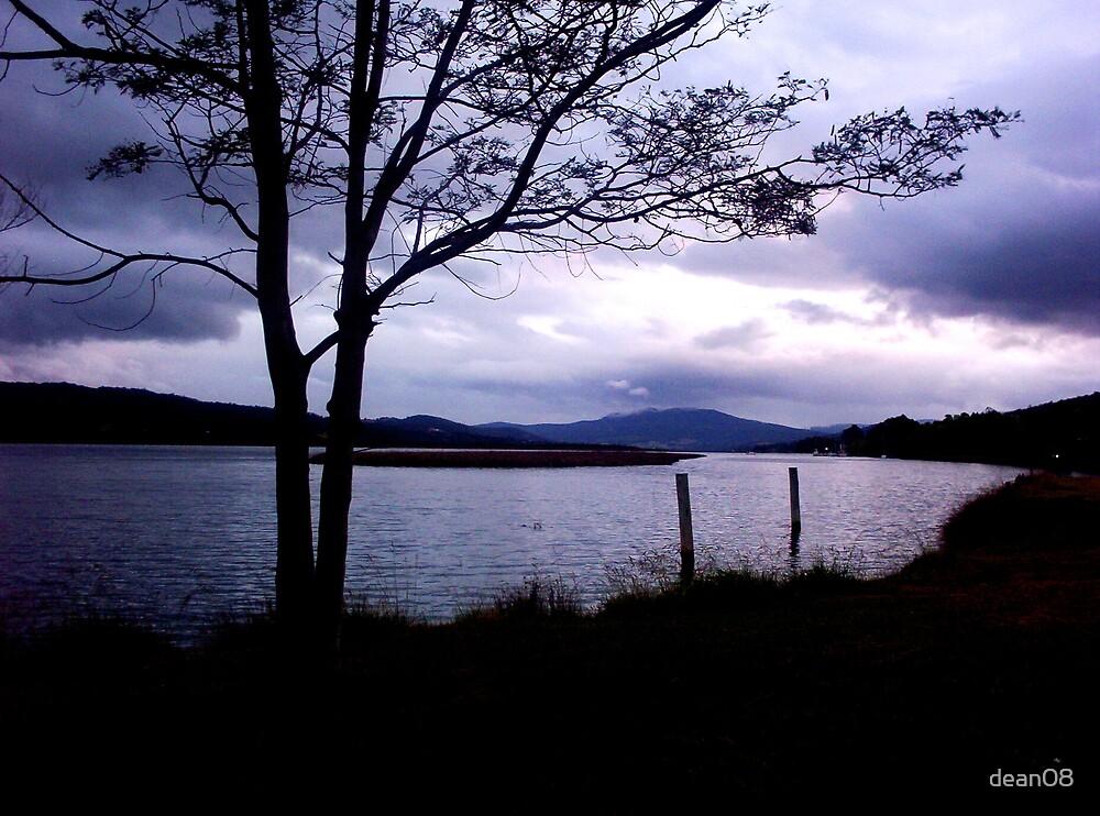 Lake at Dusk by dean08