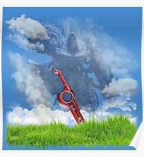 Xenoblade Chronicles cover Poster