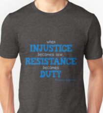 Resist Injustice T-Shirt