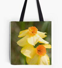 yellow daffodils Tote Bag