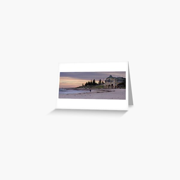 Cottesloe Beach Greeting Card