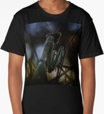 Can't sneak up on a mantis Long T-Shirt