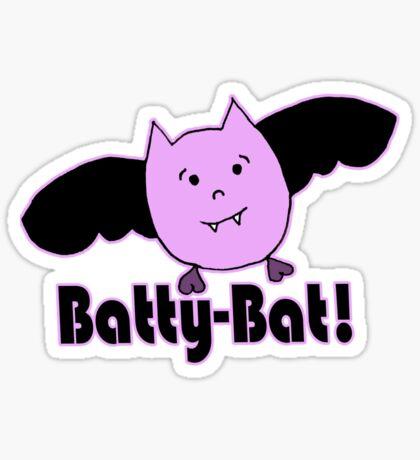 Batty-Bat (2nd variant) Sticker