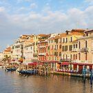 Venice Along the Grand Canal by Steve Boyko