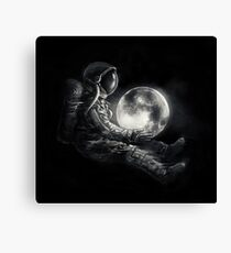Moon Play Canvas Print