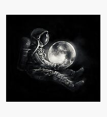 Moon Play Photographic Print