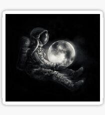Moon Play Sticker