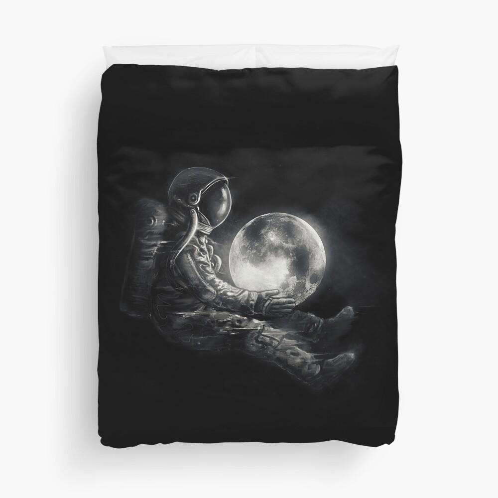 Moon Play Duvet Cover