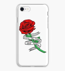 Silver Linings Rose (Colored) iPhone Case/Skin