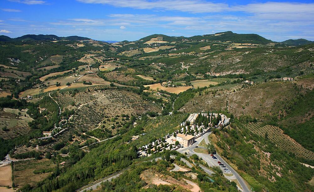 Umbrian landscape by William Mason