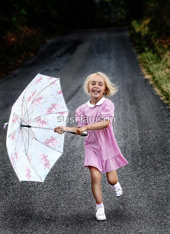 Laugh at the Rain! by susi lawson