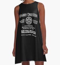 Harry Dresden - Wizard Detective A-Line Dress