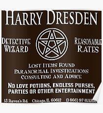 Harry Dresden - Wizard Detective Poster