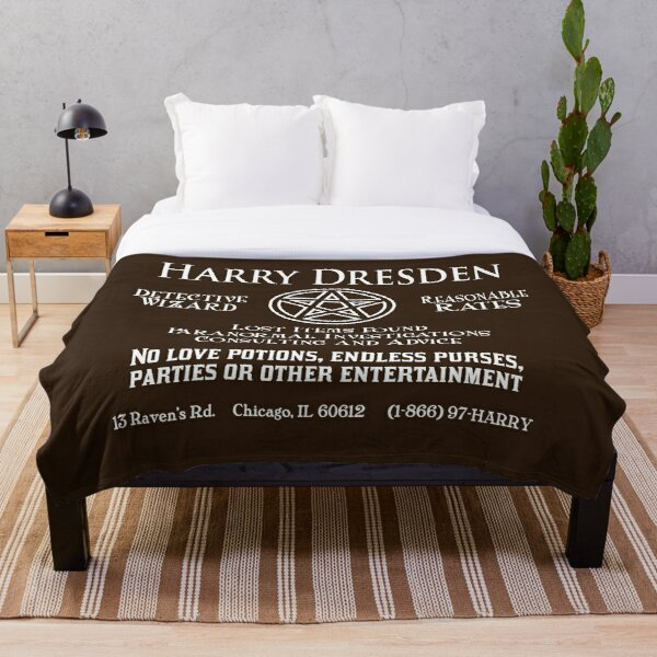 Harry Dresden - Wizard Detective Throw Blanket