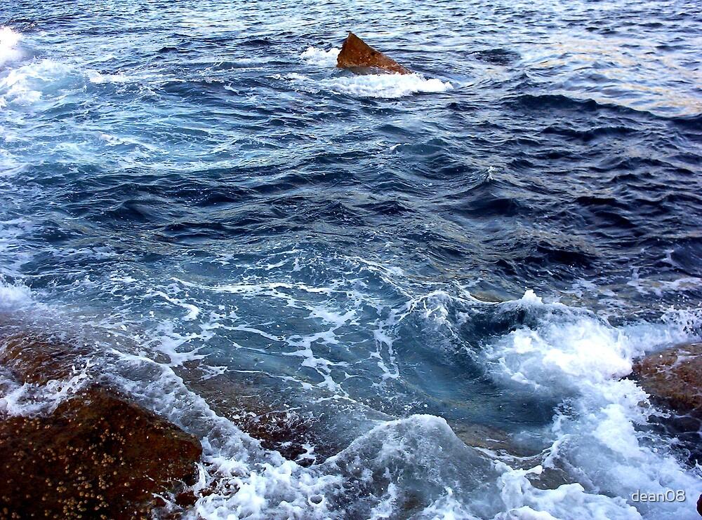 Ocean and Rocks by dean08