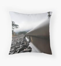 Wrong side of the tracks Throw Pillow