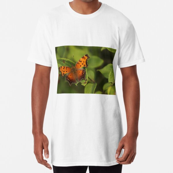 Gray Comma Long T-Shirt