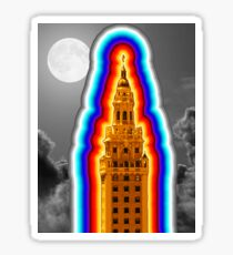Miami Freedom Tower Cuban Liberty Downtown Brickell Sticker