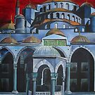 Sultan Ahmed Mosque, Istanbul by taiche
