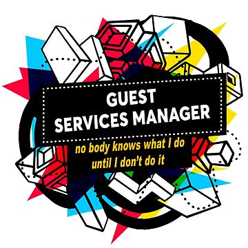 GUEST SERVICES MANAGER by Bearfish