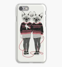 Siamese Twins iPhone Case/Skin