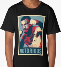 Conor McGregor NOTORIOUS Fan Print Long T-Shirt