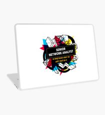 SENIOR NETWORK ANALYST Laptop Skin