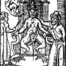 Satan on His Throne (Black Print) by Miserysmalice
