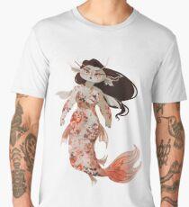Koi Pond Mermaid Men's Premium T-Shirt