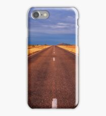 Desolate Road to Somewhere - Central Australia iPhone Case/Skin