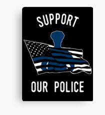 Support Our Police Canvas Print