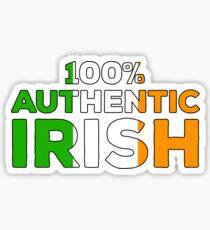 100% Authentic Irish Ireland Pride Flag Sticker