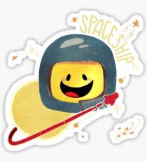 spacESHIP! Sticker