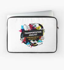 TRANSPORTATION ANALYST Laptop Sleeve